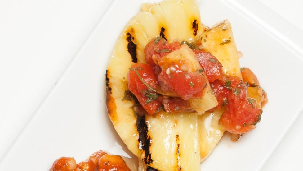 Ananas Grillés pour burger