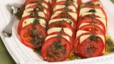 Antipasti tomates et mozzarella