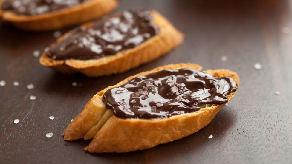 Crostinis au chocolat